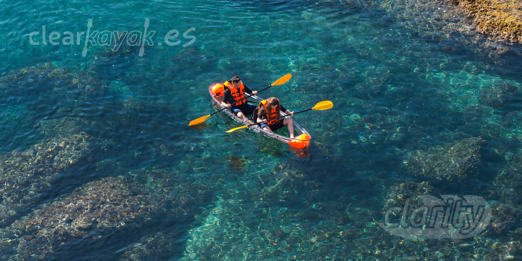 Rent And Guided Tours In A Transparent Canoe Clearkayak
