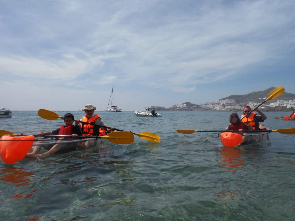 clear kayak almeria